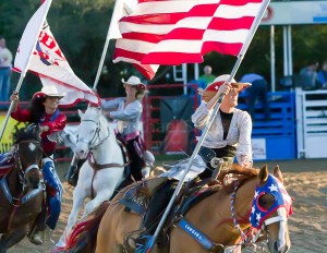 Rodeo flag bearers (9712)